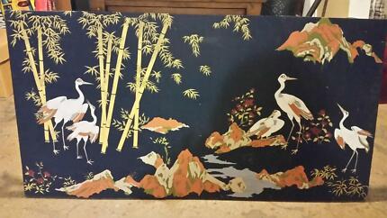 Japanese crane art