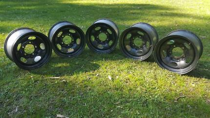 Landcruiser 100, 70, 76 Series Live Axle Factory Rims Selby Yarra Ranges Preview