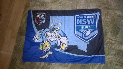 NSW State of Origin Blues flag / decoration / pister Miranda Sutherland Area Preview