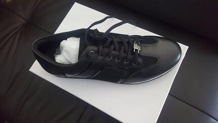 Genuine Versace Collection Tab Low Top Trainers Size 45