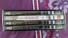 Game Of Thrones Complete Seasons 1-4 (1 2 3 4) DVD Box Set Ringwood Maroondah Area Preview
