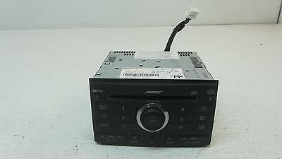 08 NISSAN MAXIMA Stereo 6 CD Changer Recievier Head Unit RDS 28185 ZE50B Nissan Maxima Stereo