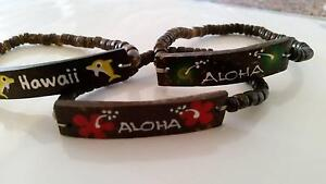 3 Hawaiian Stretchy Bracelets, Brand New #1 Rutherford Maitland Area Preview