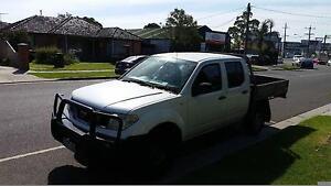 Nissan Navara 4X4 2012 Flemington Melbourne City Preview