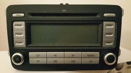 VW Golf MK5 RCD 300 MP3 CD player radio car stereo head unit