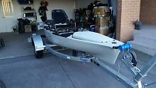 Hobie 2015 model PA 14 Kayak with Trailer Gillieston Heights Maitland Area Preview