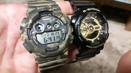 G shock watch x2