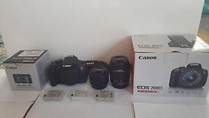 Canon 700D w/ 2 Lenses and accessories Merewether Newcastle Area Preview