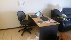 Office Desk with free office chair Port Hedland Port Hedland Area Preview