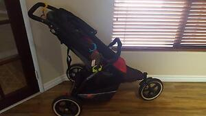 Phil and Teds Explorer Pram with additional seat Hocking Wanneroo Area Preview