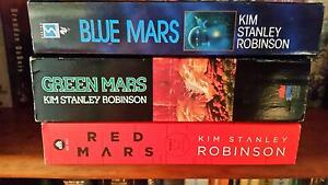 Kim Stanley Robinson Mars Trilogy Clearview Port Adelaide Area Preview