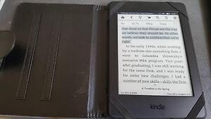 Kindle Wifi PaperWhite 4th Generation 4GB black with Cover $140 Sydney City Inner Sydney Preview