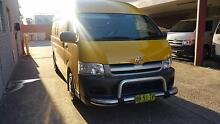 2006 TOYOTA HIACE COMMUTER MANUAL 3 SEATER - RECENTLY SERVICED Lidcombe Auburn Area Preview