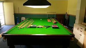 12' x 6' slate pool billiards snooker table Chinchilla Dalby Area Preview