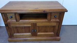 Traditional Country Style TV Stand Mount Annan Camden Area Preview