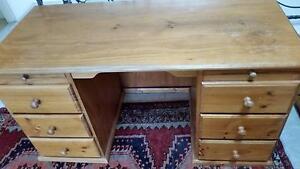 Solid wood desk Mosman Mosman Area Preview