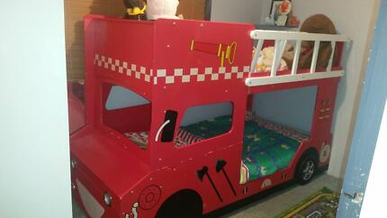 Fire Truck Bunk Bed Highland Park Gold Coast City Preview