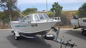 Sea Jay 4.55 Capri Runabout, 40 hp E-tec Osborne Park Stirling Area Preview