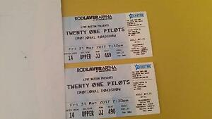 Twenty one pilots tickets ×2 melbourne Bendigo Bendigo City Preview