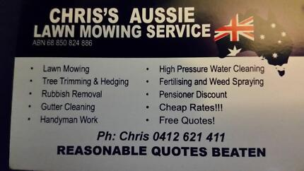Lawn Mowing Service rochedale