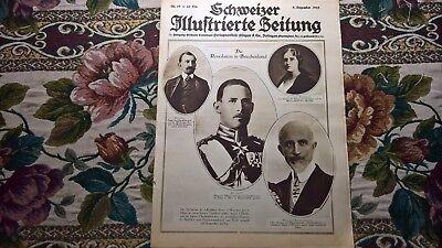 1922 Illustrierte 49 Revolution Griechenland / Stans Matterhorn Kreuz Romanshorn