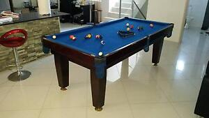 8ft Pool Table SOLID WOOD Carlton Kogarah Area Preview