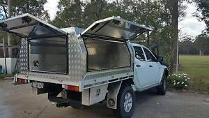Dual cab aluminium checkerplate canopy, new from factory!! SAVE!! Windsor Hawkesbury Area Preview