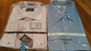 Three Men's Business Shirts – Size 46 New Lambton Newcastle Area Preview