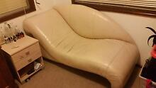 Leather Chaise Lounge Mangrove Mountain Gosford Area Preview