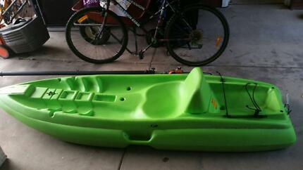 kayak with storage fishing ect good condition with paddle Holden Hill Tea Tree Gully Area Preview
