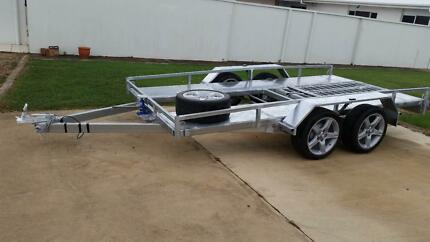 New Tipping Car Trailer Innes Park Bundaberg City Preview