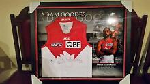 Limited Addition Adam Goodes Framed Signed Jersey Salisbury Park Salisbury Area Preview