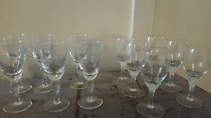 12 sherry glasses Daw Park Mitcham Area Preview