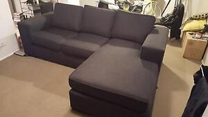 Harvey Norman 2.5 Seater Couch with Chaise Eastlakes Botany Bay Area Preview