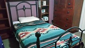 Wrought Iron Bed King Single Mango Hill Pine Rivers Area Preview