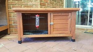 Rabbit / Guinea Pig Hutch w/ Water Dispenser Leeming Melville Area Preview