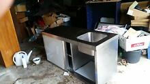 Stainless Cabinet with fully integrated sink Shorncliffe Brisbane North East Preview