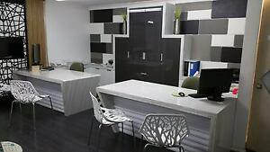Near new custom designer office furniture and desks Wollongong Wollongong Area Preview