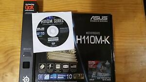 ASUS H110M-K Motherboard (2016 model) + Brand New Mouse pad Wanniassa Tuggeranong Preview