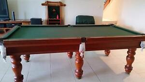 8x4 Slate based Pool Table + accessories Thornlands Redland Area Preview