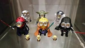 Minions - star wars edition and others Panania Bankstown Area Preview