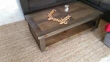 Timber coffee table and Entertainment unit Castle Cove Willoughby Area Preview