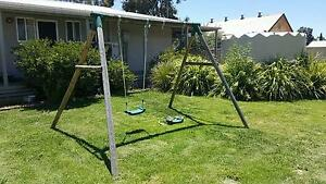 Timber Swing Set Moama Murray Area Preview