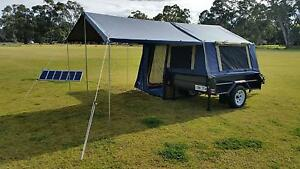 2016 Oztrail Camper Trailer CDT-6 New - Heavy Duty 6x4 Meadows Mount Barker Area Preview