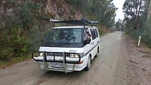 Backpacker Van 1991 Mitsubishi Starwagon Wagon Richmond Yarra Area Preview