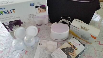 Avent Twin Electric Breast Pump natural Eight Mile Plains Brisbane South West Preview
