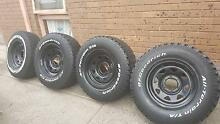 BF Goodrich All Terrain tyres 4x4 x 5 Clarinda Kingston Area Preview