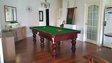 Quality 8ft slate top pool table Seville Yarra Ranges Preview