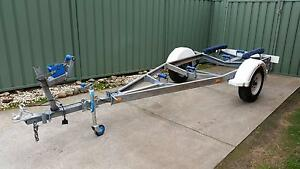 New Condition Galvanised Tilting 15' Brooker Boat Trailer Moorebank Liverpool Area Preview