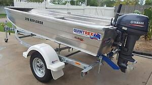 Quintrex 370 Explorer 15HP Yamaha 2 Stroke Motor BRAND NEW Townsville Townsville City Preview